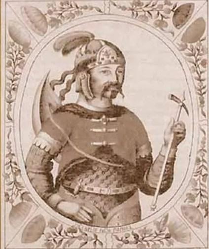 Князь Рюрик (таблица)