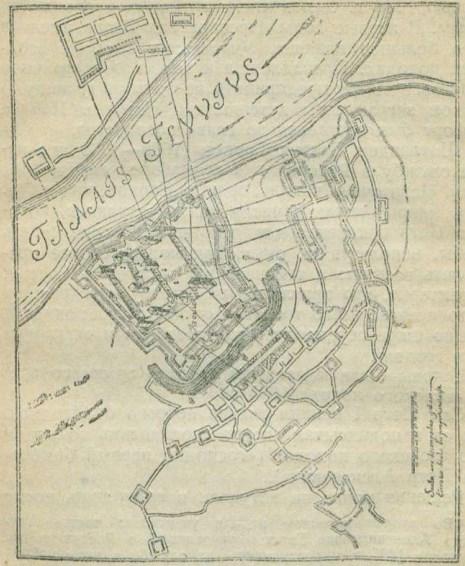 План азовской крепости