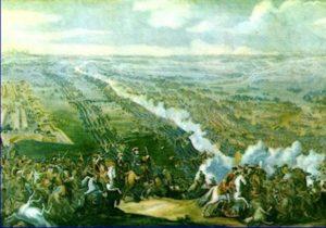Карты полтавской битвы