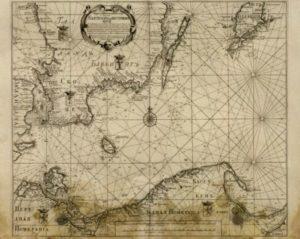 Карта побережья балтийского моря