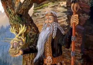 Славянский бог Чернобог