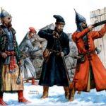Создание стрелецкого войска Иваном IV
