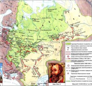 Российское государство при Иване IV